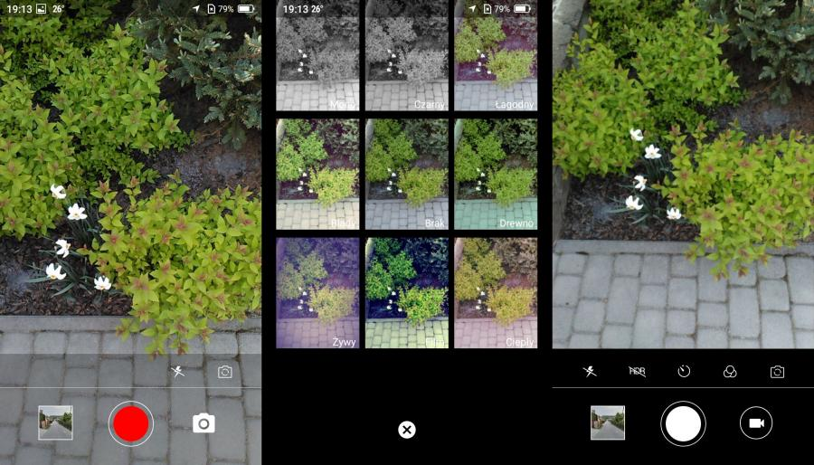 Neffos Y5s - aplikacja aparatu