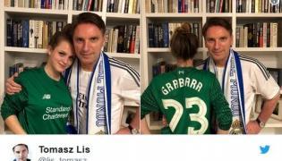 Tomasz Lis z córką