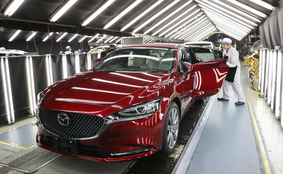 Mazda 6 powstaje w fabryce w Hofu w prefekturze Yamaguchi