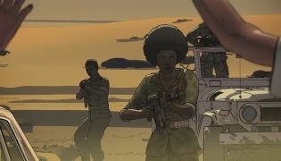 """Kadr z filmu """"Jeszcze dzień życia"""""""