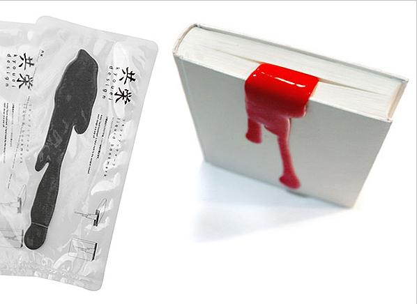 Pomysłowe zakładki wesołego Japończyka