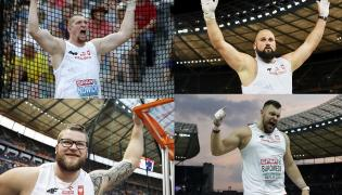 Paweł Fajdek, Wojciech Nowicki, Michał Haratyk i Konrad Bukowiecki
