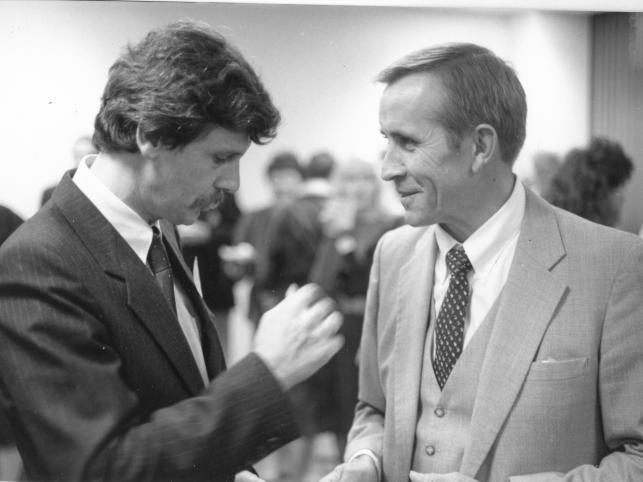 Inauguracja Solidarity Endowment, Waszyngton 1986