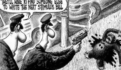 Karykatura Obamy wzbudziła protesty w Ameryce
