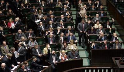 14.02.2007 Warszawa Sejm Glosowania nt poprawkami senatu N/Z glosowania sala obradfot.Michal Rozbicki