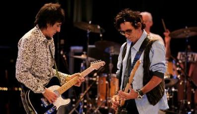 Ronnie Wood i Keith Richards