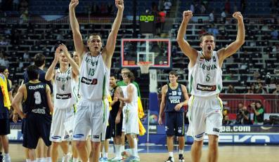 Brązowy medal dla koszykarzy z Litwy