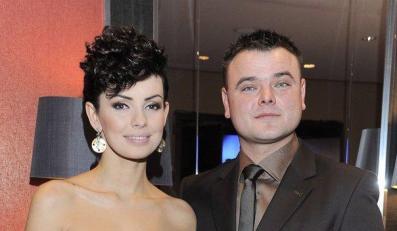 Dorota Gardias z mężem