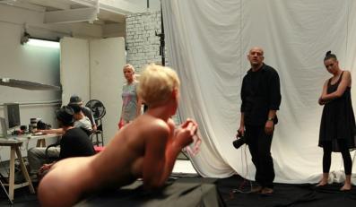 Akty w Top Model – zdjęcia z planu