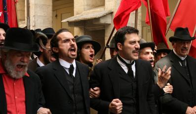 Filippo Timi jako młody Mussolini