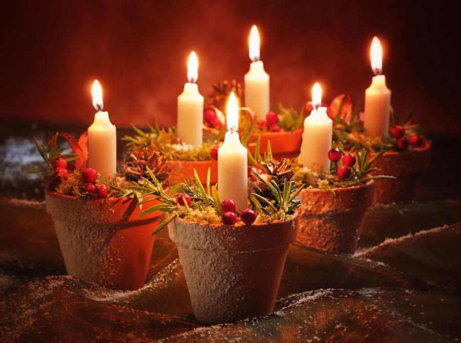 Zdj cia jak przystroi mieszkanie na wi ta zobacz zdj cia strona 1 serwis - Portacandele natalizi fai da te ...