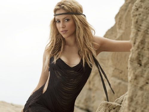 Shakira przywiozła do Łodzi chłopaka piłkarza