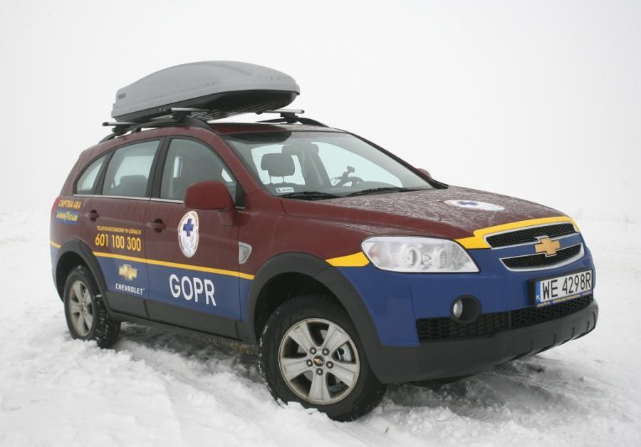Chevrolet captiva od 4 lat jest samochodem w służbie ratowników GOPR