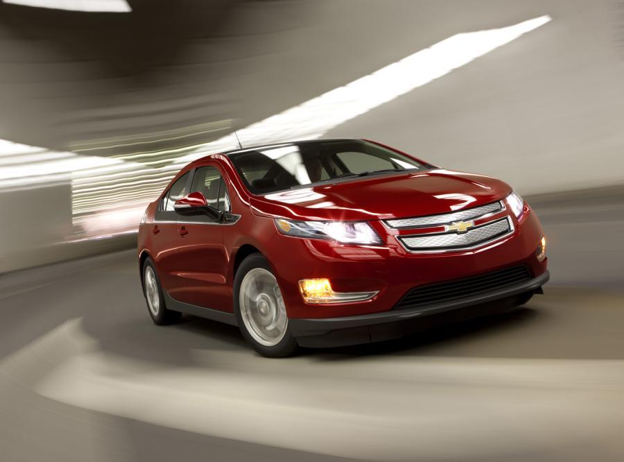 Chevrolet Volt jest pierwszym samochodem elektrycznym, który uzyskał ogólny wynik pięciu gwiazdek
