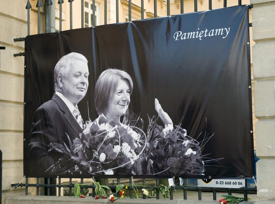 Prezydencka para: Lech i Maria Kaczyńscy