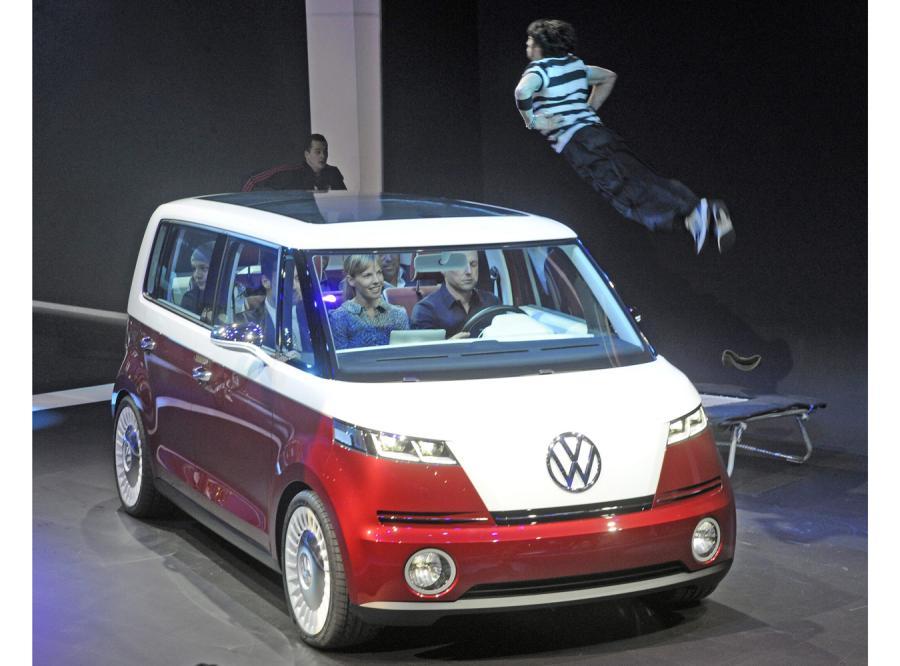 Volkswagen Bulli w Genewie
