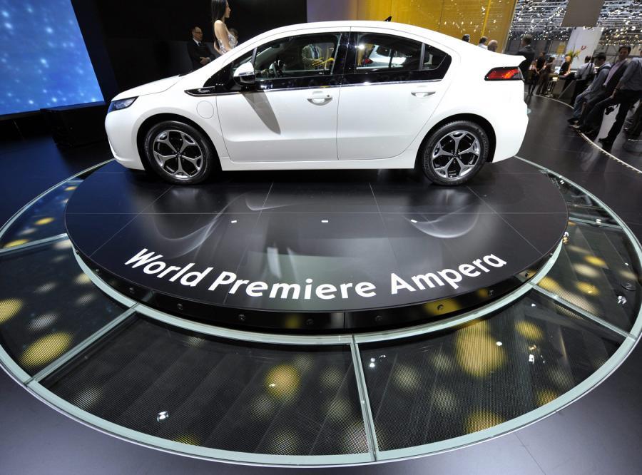 Opel ampera prosto z Genewy