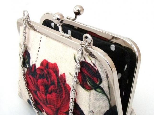 Kwiatowe kopertówki od Red Ruby Rose
