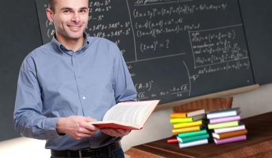 Nauczyciel w szkole