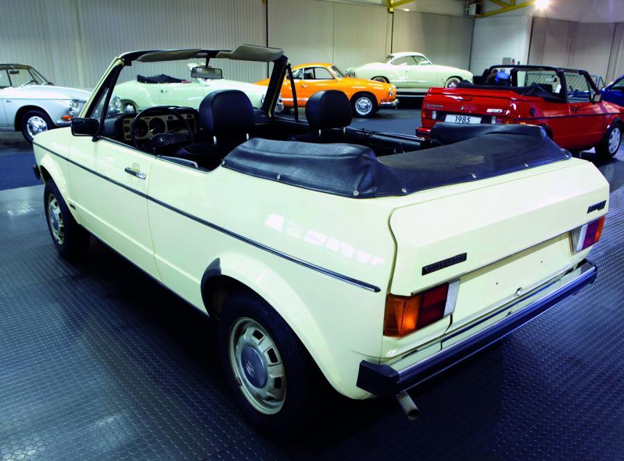 Pierwszy prototyp Golfa Cabrio