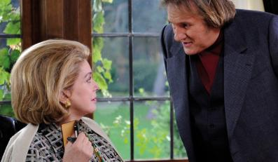 "Gérard Depardieu i ""Żona doskonała"" Catherine Deneuve"