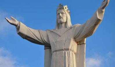 Jezus w Świebodzinie nakręca handel