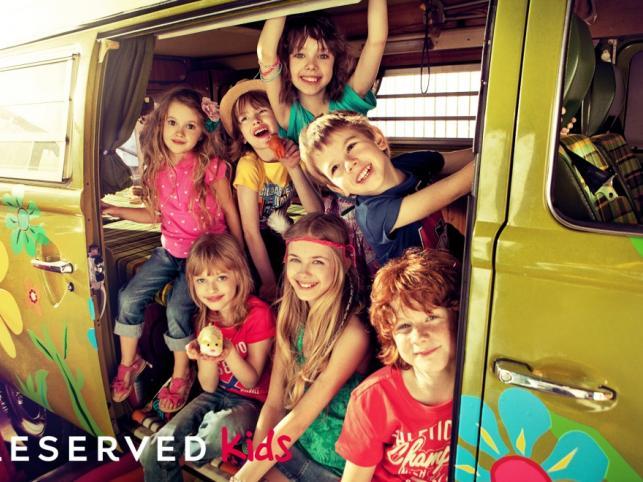 Ubrania Reserved Kids - kolekcja wiosna/lato 2011