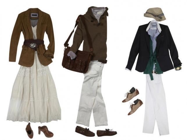 Zestawy ubraniowe dla dwojga - propozycje Massimo Dutti, wiosna 2011
