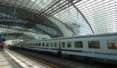 Pociąg Warszawa-Berlin