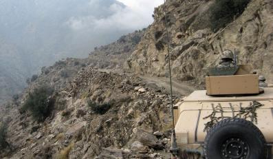 Patrol w górach Afganistanu