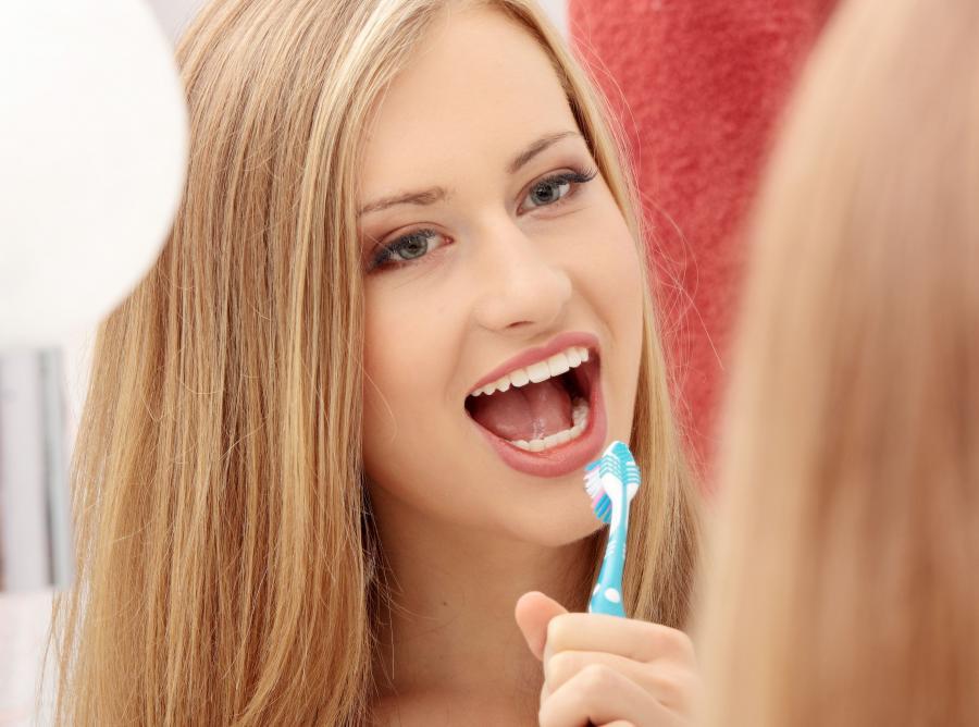 Mycie zębów dzięki USB