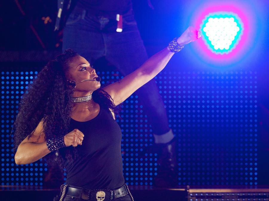 Janet Jackson na koncercie w Berlinie