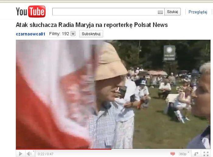 Reporterka Polsatu odpowiada o. Rydzykowi. Wspomina o norweskiej masakrze