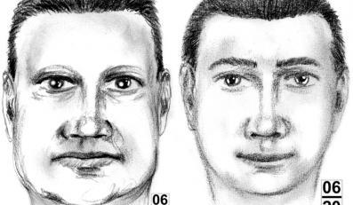 Portrety pamięciowe poszukiwanych w związku z serią wybuchów w Krakowie