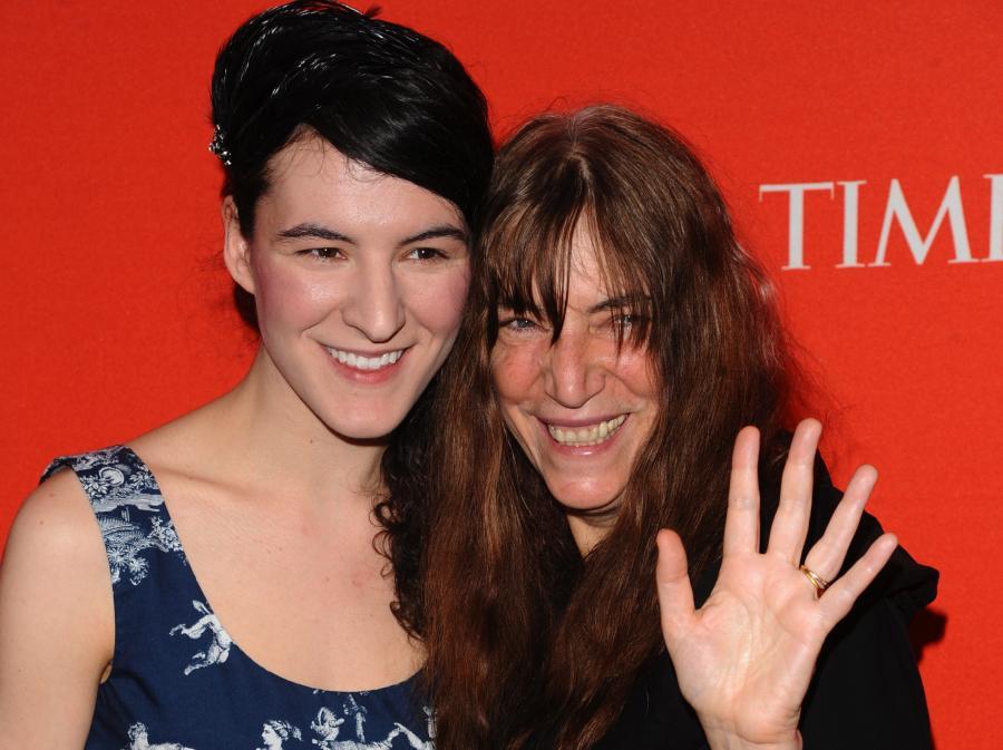 Patti Smith z córką Jessicą