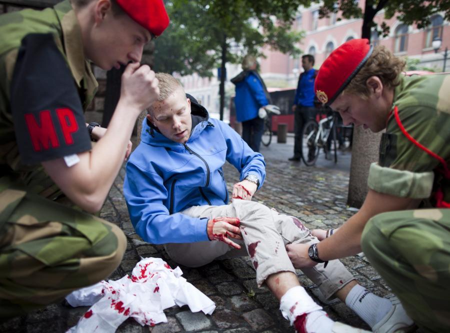W Oslo wybuchło kilka bomb?