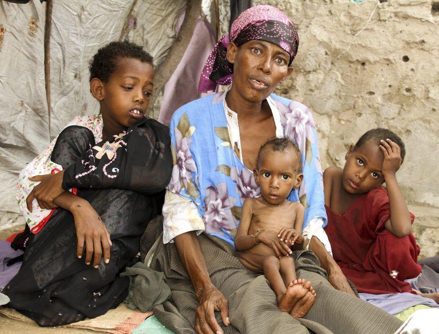 W Somalii głodują miliony ludzi