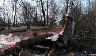 Zdjęcie, które zostało zrobione na miejscu katastrofy, a które znalazło się w raporcie Millera