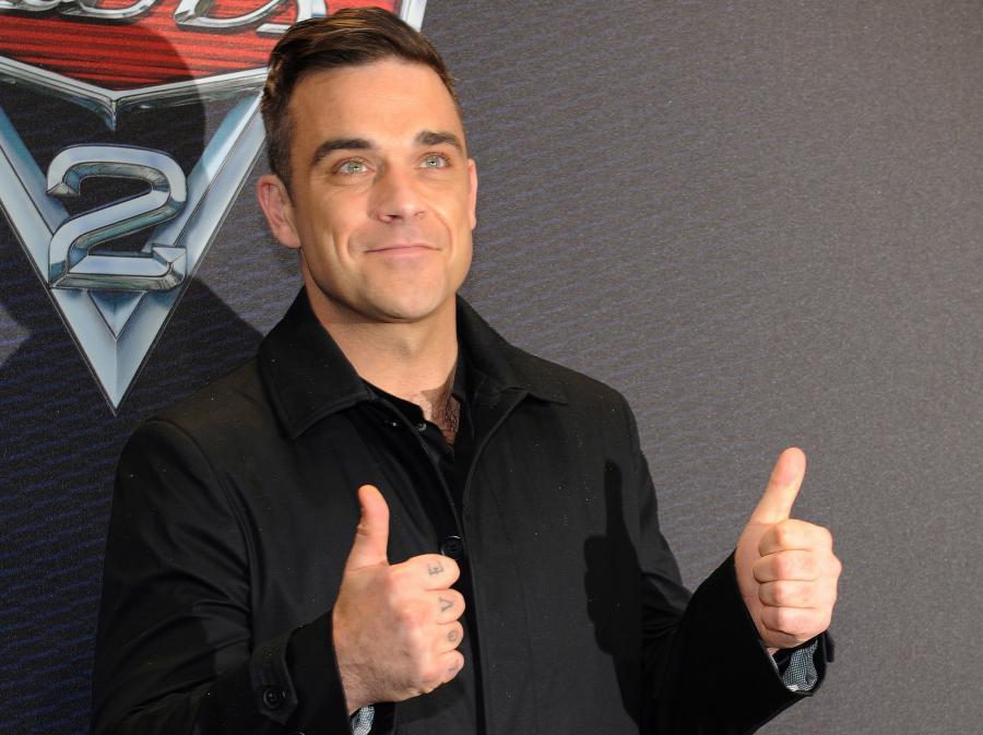 Robbie Williams wziął się ostro do pracy
