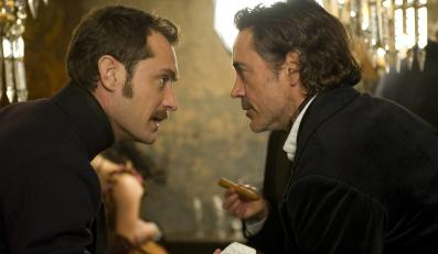 """Sherlock Holmes: Gra cieni"" (Robert Downey Jr. i Jude Law)"