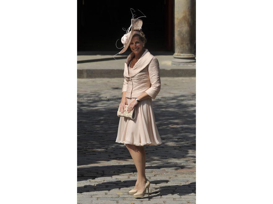 Jej Wysokość Sophie, hrabina Wessex, na ślubie Zary Phillips, wnuczki królowej Elżbiety II