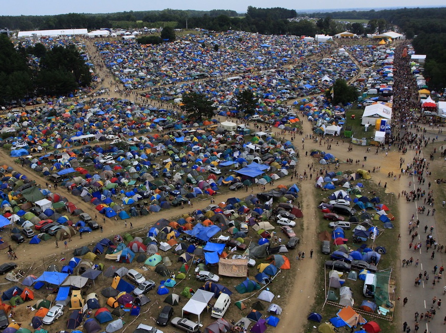 Przystanek Woodstock to największy w Polsce i jeden z największych w Europie festiwali muzycznych