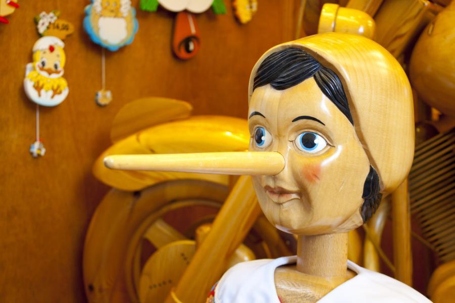 Gdy dziecko kłamie...