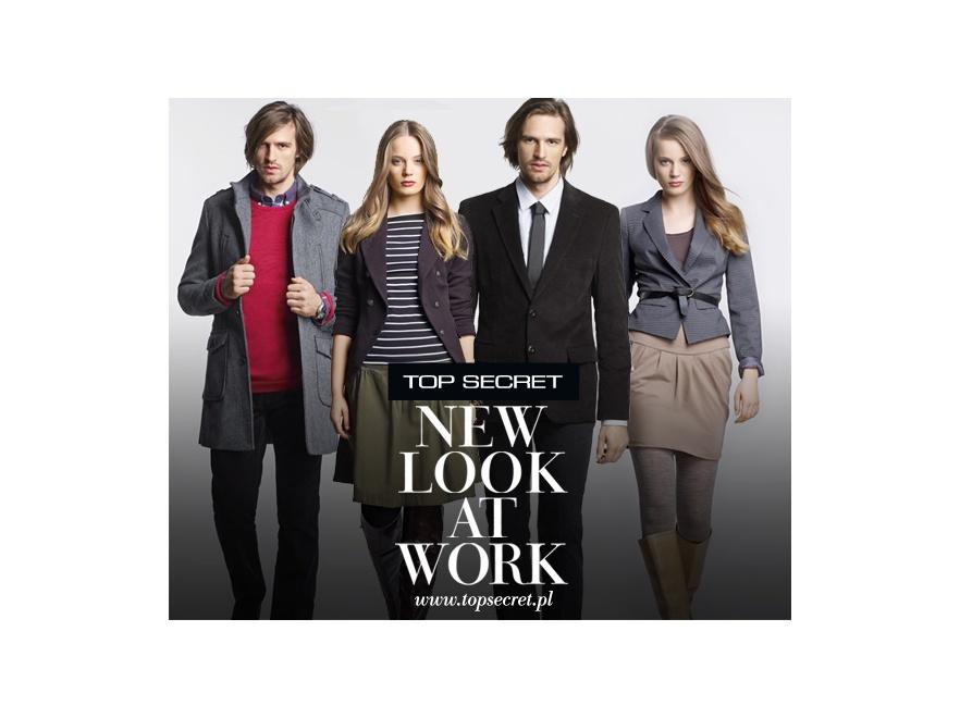 Kolekcja Top Secret na jesień 2011 pozwoli Ci poczuć się modnie w pracy.