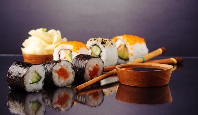 Sushi - najsłynniejsza na świecie potrawa japońska