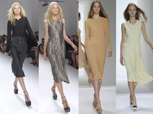 Calvin Klein wiosna 2012