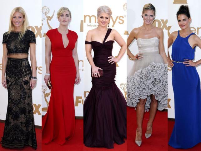 Kreacje na rozdaniu nagród Emmy