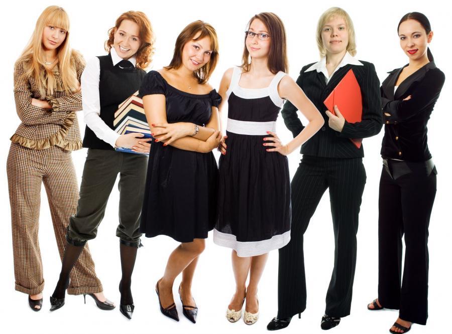 Wiele kobiet ma zdolności przywódcze.