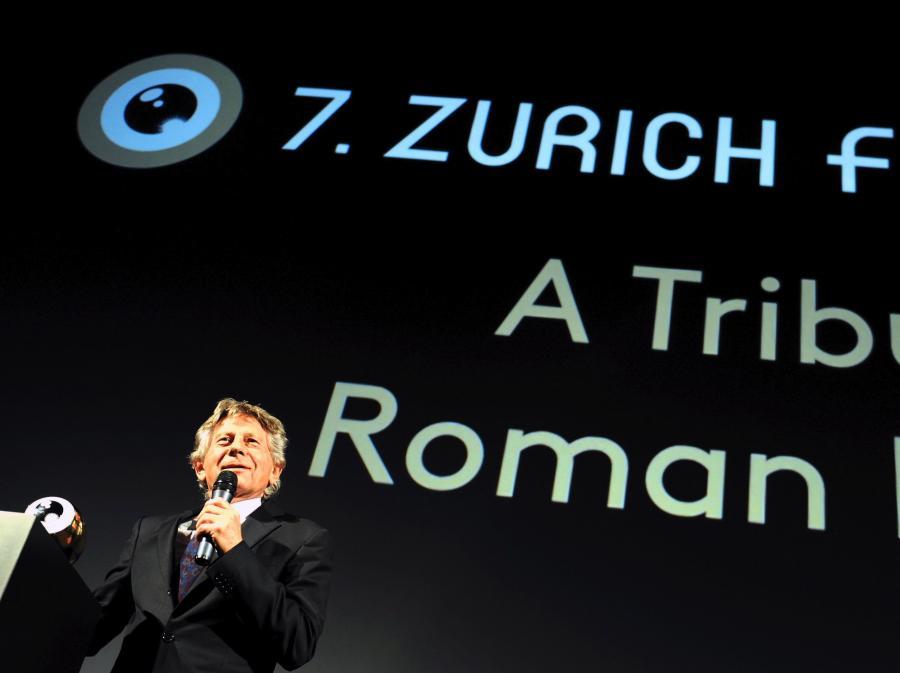 Polański odebrał nagrodę w Zurychu
