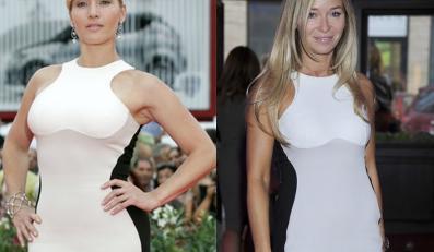 Polska kontra Hollywood: Kate Winslet i Joanna Przetakiewicz w tej samej sukience